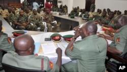 Un tribunal militaire à Abuja, Nigeria, 15 octobre 2014.