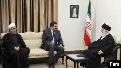 El gobierno de Irán es aliado del presidente en disputa de Venezuela, Nicolás Maudro.