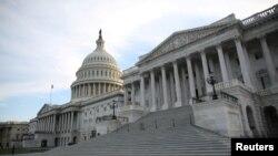 Le bâtiment du Congrès sur Capitol Hill, à Washington D.C., le 17 mai 2017.