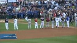 Beyzbol Sahasında Siyasi Barış Mesajı