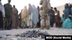 ارزګان کې د طالبانو له زندانه د راخوشي شوو کسانو انځور
