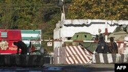 КПП на границе с Абхазией