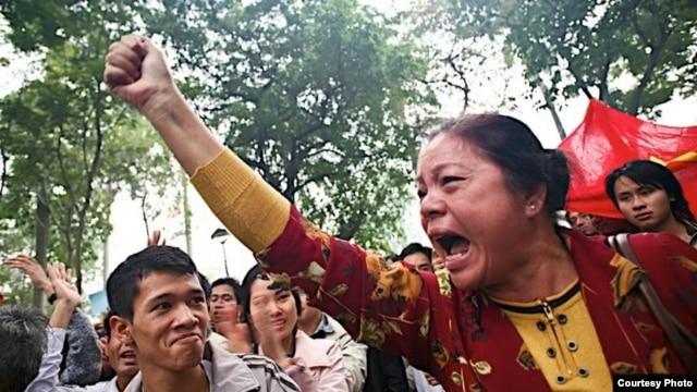 Nhiều cuộc phản đối chống Trung Quốc diễn ra ở Hà Nội và TP HCM trong những năm qua.