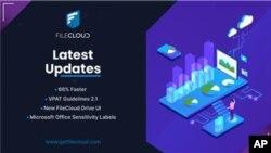 FileCloud 21.1 обеспечивает более высокую скорость сервера, новый пользовательский интерфейс диска и управление доступом (Graphic: Business Wire)