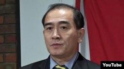 要求南韓庇護的北韓駐英國公使太永浩 (資料圖片)