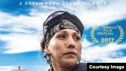 "Image from ""Awake, A Dream from Standing Rock"" promotional poster"
