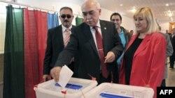 Парламентські вибори в Азербайджані.