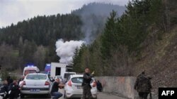 Başbakanlık Otobüsüne Eşlik Eden Polislere Saldırı