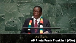 In UN General Assembly Address Mnangagwa Repeats Calls to End Sanctions, Reform UN