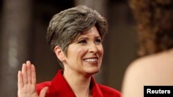 La sénatrice républicaine Joni Ernst de l'Iowa (Reuters)