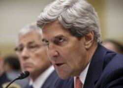 克里﹕對敘利亞退縮等同姑息養奸