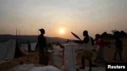 La rivière Oubangui, 16 février 2014