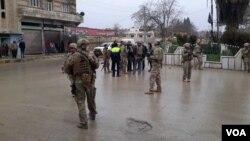 Skena e shpërthimit në Manbij