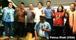 Para aktivis, akademisi, dan penggerak kebhinnekaan sepakat menghadirkan runag publik yang baik untuk Indonesia Maju