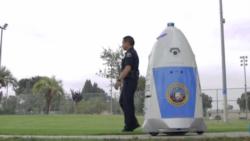 [구석구석 미국 이야기 오디오] 공원 순찰 로봇, 로보캅...스니커즈 운동화 전시회