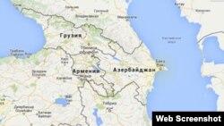 Regionun xəritəsi