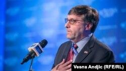 Obraćanje Matthewa Palmera, zamjenik pomoćnika američkog državnog sekretara, na Beogradskom bezbjednosnom forumu, 19. oktobar 2018.