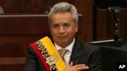 Moreno ha reconocido que la situación económica en que encontró el país es crítica, por lo que es necesario poner en marcha acciones de austeridad como la reducción del gasto público.
