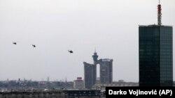 Helikopteri nadleću Beograd povodom obeležavanja godišnjice NATO bombardovanja