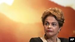 巴西总统罗塞夫(资料)