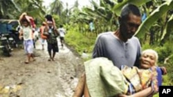 ဖိလစ္ပိုင္ ေရႀကီးမႈ လူအေသအေပ်ာက္ မ်ားလာ
