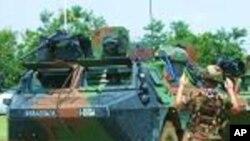 Eléments de la Force Livorne en Côte d'Ivoire