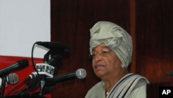 The election of Ellen Johnson Sirleaf as Liberia's first femal President is an example of the progress being made in women's equality throughout the world. (file)