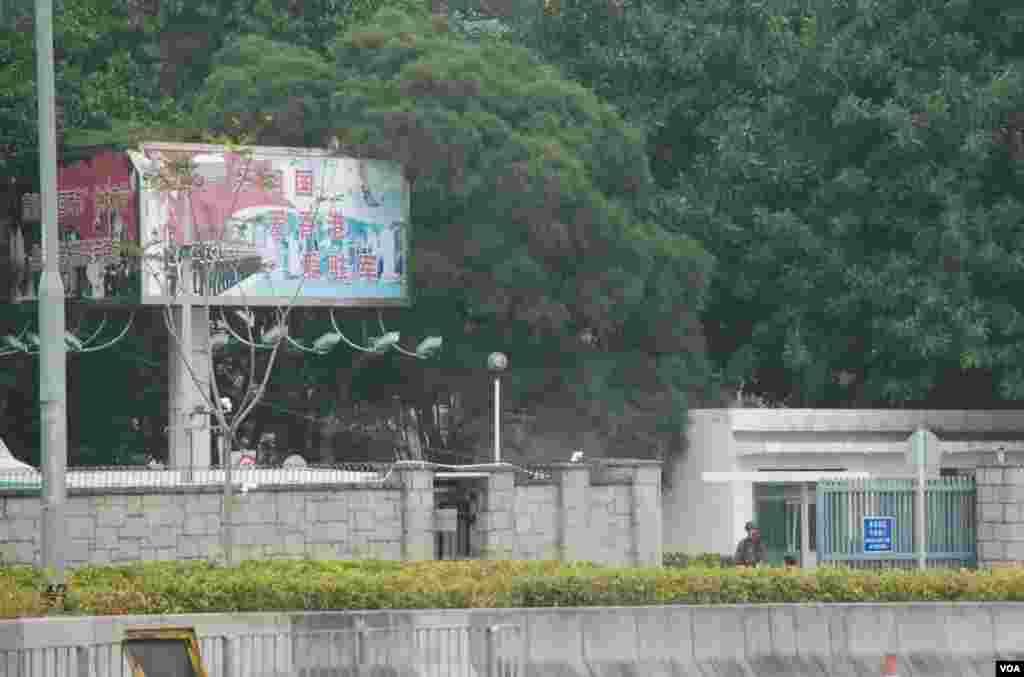 金鐘駐港解放軍總部外貌