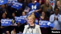 Demokratski predsednički pretendent Hilari Klinton