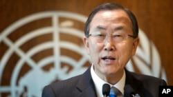 """Tổng thư ký Liên hiệp quốc Ban Ki-moon kêu gọi Hội Đồng Bảo An Liên Hiệp Quốc """"tìm sự thống nhất"""" về tình hình Syria"""