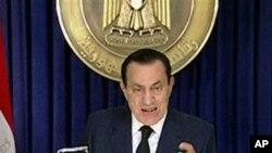 Ο Χόσνι Μουμπάρακ ανακοίνωσε ότι δεν θα επιδιώξει επανεκλογή