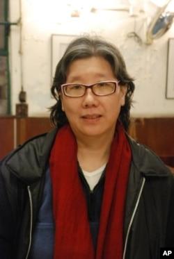 香港人權組織良心之友成員蔡淑芳
