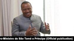 Patrice Trovoada, primeiro-ministro são-tomense