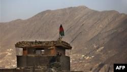 Пост афганской армии неподалеку от Кабула.