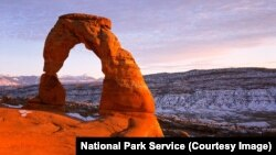Delicate Arch in Utah's Arches National Park