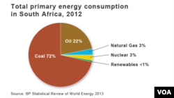 Energy Consumption in South Africa