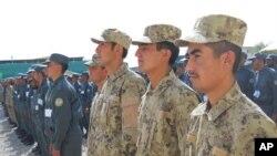 آرشیف: قوای امنیتی افغان