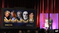 85th Academy Award Awards Nomination Annoucement