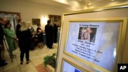 El sábado 10 de agosto de 2019 tuvo lugar el oficio fúnebre de Jordan Anchondo en El Paso, Texas. Fue una de las 22 personas fallecidas el sábado pasado durante un tiroteo en un mercado Walmart.