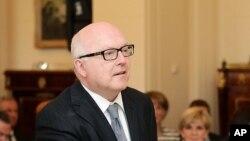 Bộ trưởng Tư pháp Australia George Brandis loan báo với báo giới rằng Neil Prakash, sinh quán tại Melbourne, đã thiệt mạng trong cuộc không kích ở Mosul vào ngày 29/4. (Ảnh tư liệu)