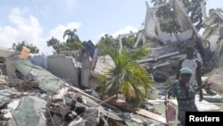 Posledice zemljotresa u jugoistočnom delu Haitija, 14. avgusta 2021.