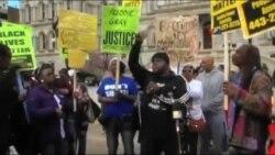 Baltimor sakinləri polis zorakılığına etiraz edir