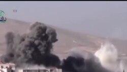 2014-02-02 美國之音視頻新聞: 敘利亞軍轟炸反政府武裝控制區