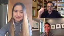 คุยข่าวกับ VOA Thai ในรูปแบบ work from home ประจำวันอังคารที่ 21 เมษายน 2563