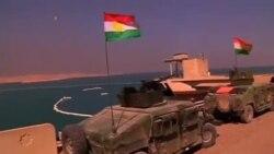 ژنرال سیروان بارزانی فرمانده نیروهای پیشمرگه کرد در شمال عراق