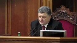 رئيس جمهوری اوکراين از افزايش تلفات انسانی در شرق آن کشور خبر می دهد