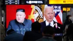 သမၼတ Biden ရန္လိုတဲ့မူဝါဒ က်င့္သံုးေနတယ္လို႔ ေျမာက္ကိုရီးယားေခါင္းေဆာင္ စြပ္စြဲ