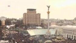 烏克蘭大示威歐盟暫停貿易協議的談判