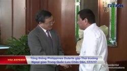 Trung Quốc, Philippines họp song phương bàn về Biển Đông