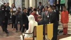 劍橋公爵夫婦繼續訪問馬來西亞
